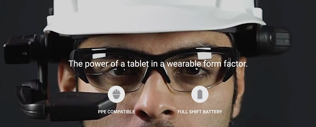 The power of a tablet in a wearable form factor