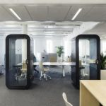 Soundproof acoustic phonebooth
