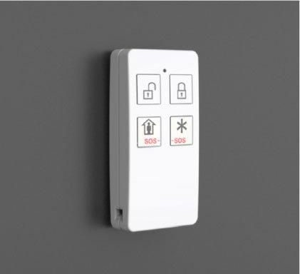 Wireless Keypad and Remote Keyfobs
